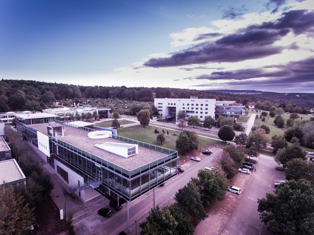 Luftaufnahme Hochschule Pforzheim