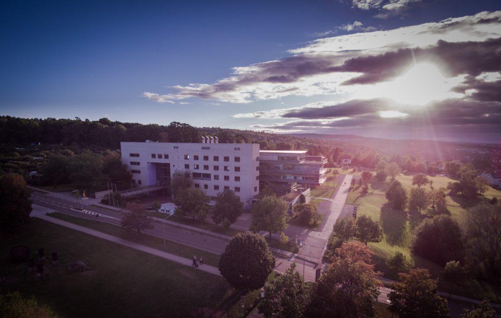 Drohnenbild Hochschule