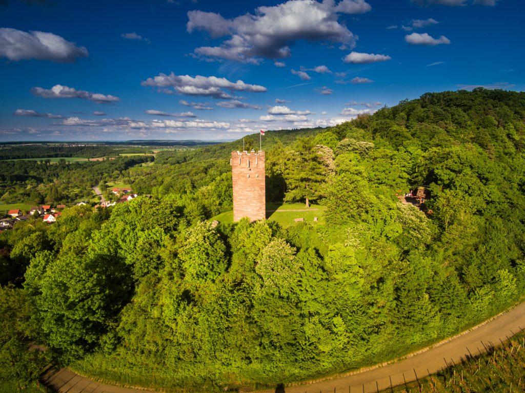 Luftaufnahme Turm Sternenfels